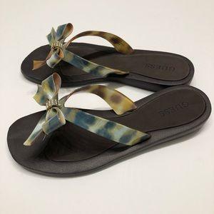 5725af01b5a1 Guess Shoes - GUESS TUTU sandals flip flops NWOT